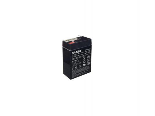 Батарея Sven SV-0222064 6B/4.5A SV 645 стабилизатор sven avr slim 1000 lcd sv 012816