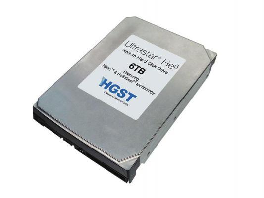 """Жесткий диск 3.5"""" 6Tb 7200rpm HGST Ultrastar He6 SAS HUS726060ALS640 0F18370"""