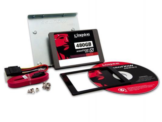 "SSD Твердотельный накопитель 2.5"" 480GB Kingston SSDNow V300 Read 450Mb/s Write 450Mb/s SATAIII SV300S3D7/480G"