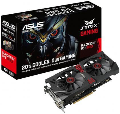 ���������� 2048Mb ASUS R9 380 PCI-E STRIX-R9380-DC2OC-2GD5-GA Retail