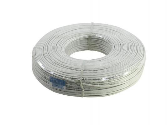 Кабель UTP indoor 2 пары категория 5e 5bites US5505-305A2 одножильный CCA PVC 305м кабель сетевой utp cat 5e 305м 4 пары 26awg 0 4мм cca одножильный solid серый