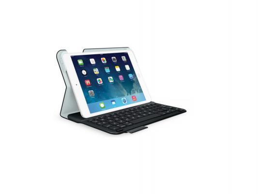 Клавиатура беспроводная Logitech Ultrathin Keyboard Folio для iPad mini черный 920-006150