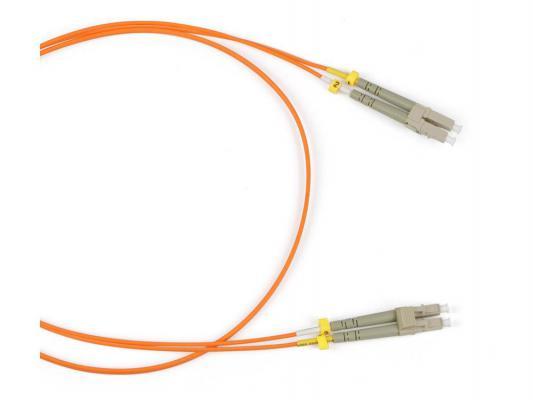 Патч-корд Hyperline FC-50-LC-LC-PC-2M/FC-D2-50-LC/PR-H-2M-LSZH-OR волоконно-оптический шнур 2м кабель оптоволоконный hp 2m multi mode om3 lc lc fc cable