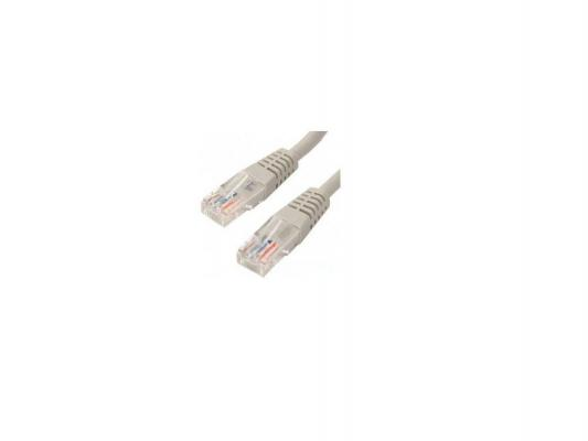 Патч-корд UTP 5е категории Telecom 15м литой серый NA102 6242755357402