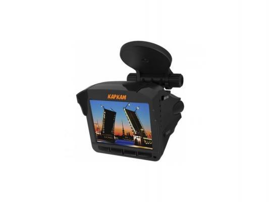 Видеорегистратор КАРКАМ КОМБО 2 + радар детектор 140°1920x1080 + GPS-Информер каркам f1 автомобильный видеорегистратор