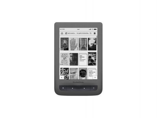 "Электронная книга PocketBook 626 Plus 6"" E Ink Carta HD 4Gb 1024x758 Touch SD серый"