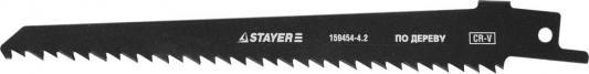 Полотно Stayer S644D для сабельной ножовки по дереву 159454-4.2 цена