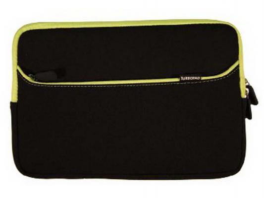Чехол Turbo для планшетов 10 и 9.7 черно-зеленый