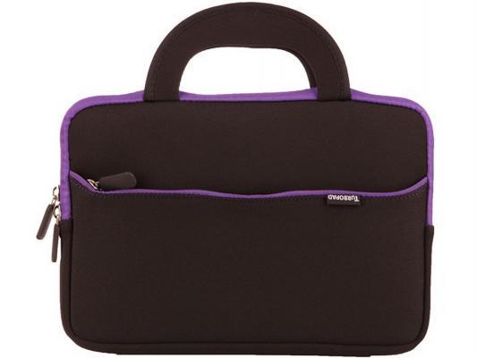 """Чехол-сумка Turbo для планшетов 10"""" и 9.7"""" черно-фиолетовый"""