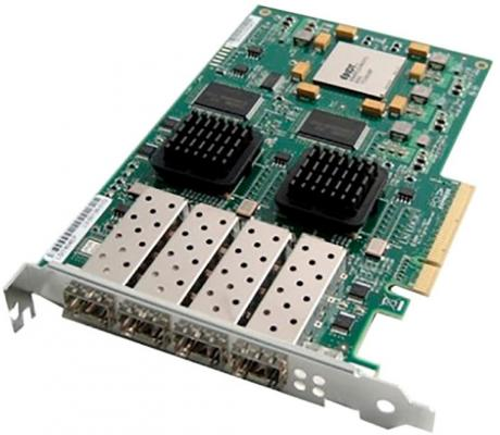 Контроллер IBM 8Gb FC 4 Port Host Interface Card 00MJ095 опция lenovo 00mj093 6gb sas 4 port host interface card