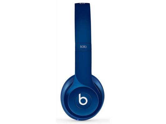 Наушники Apple Beats Solo2 On-Ear Headphones синий MHBJ2ZM/A наушники накладные beats ep on ear headphones white ml9a2ze a