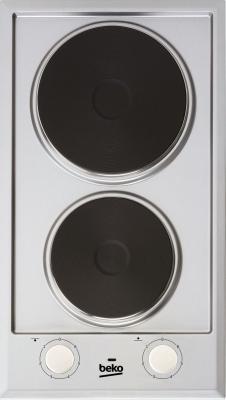 Варочная панель электрическая Beko HDCE 32200 X серебристый