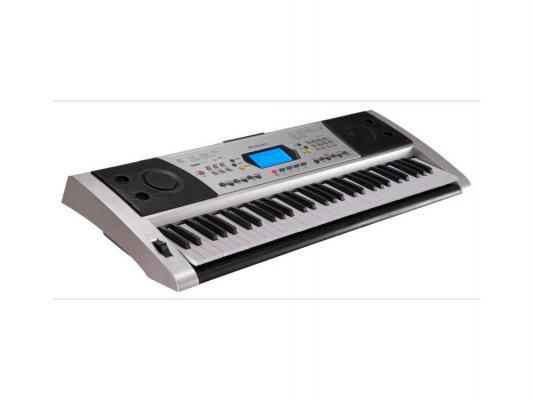 Синтезатор Rolsen RKB6101 61 клавиша USB серебристый