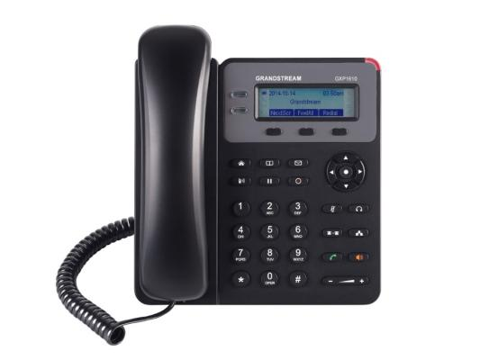 Телефон IP Grandstream GXP1610 2 линии 1 SIP-аккаунт 2x10/100Mbps LCD
