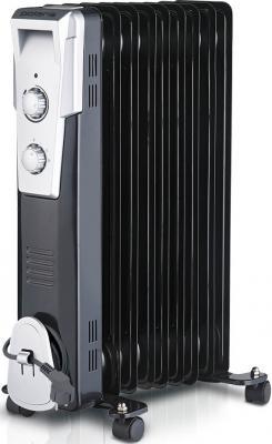 Масляный радиатор Polaris PRE Q 1025 2500 Вт ручка для переноски чёрный