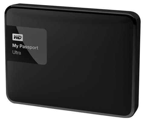 "Внешний жесткий диск 2.5"" USB3.0 500Gb Western Digital My Passport Ultra WDBBRL5000ABK-EEUE черный"