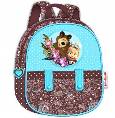 Рюкзак малый Маша и Медведь Бирюза РОСМЭН 22098 росмэн росмэн набор для детского творчества маша и медведь 12 предметов