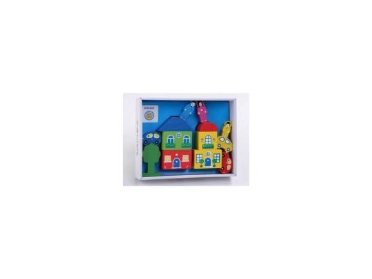Конструктор Томик Цветной Городок-6 14 элементов 8688-6 конструктор томик веселый городок 56 элементов 7678 1