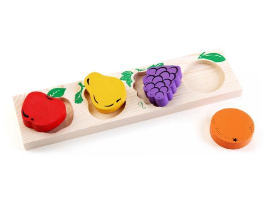 Доска-вкладыш Томик Фрукты-ягоды 5 элементов 372-3 сортеры томик доска вкладыш овощи