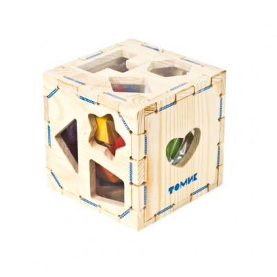 Купить Сортер Томик Геометрические фигуры 967, Развивающие игрушки из дерева