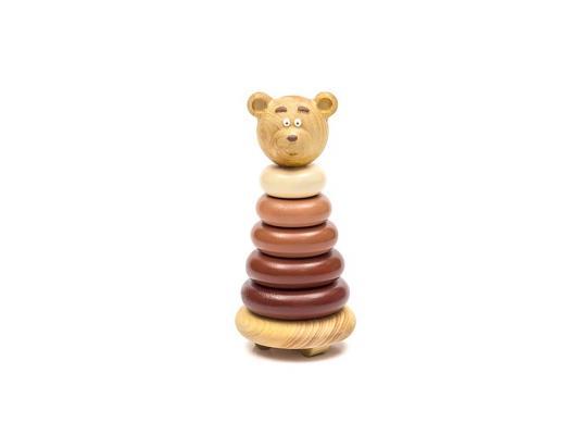 Пирамида Томик Медвежонок 15 см 7 элементов 504 цена