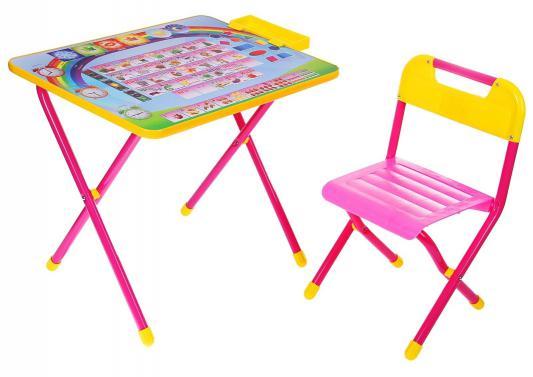 Набор мебели №1 Алфавит розовый ДЭМИ АР.1 набор мебели дэми дэми 1 далматинцы голубой