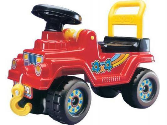 Каталка-машинка Полесье Джип 4х4 №2 цвет в ассортименте от 2 лет пластик 6287