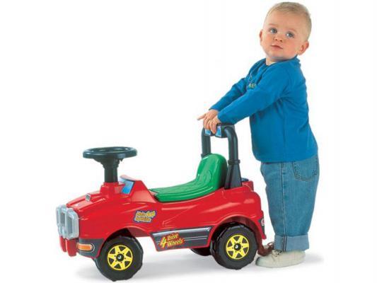 Каталка-машинка Полесье Джип №2 разноцветный от 1 года пластик 6331