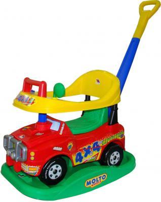 Каталка-машинка Полесье Джип Викинг №2 (без звукового сигнала) красный 6300