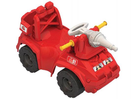 Каталка-машинка Нордпласт Пожарная машина красный от 1 года пластик 431014