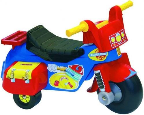 Каталка-мотоцикл Нордпласт Мото Go разноцветный от 1 года пластик 431011 нордпласт нордпласт каталка кочевник