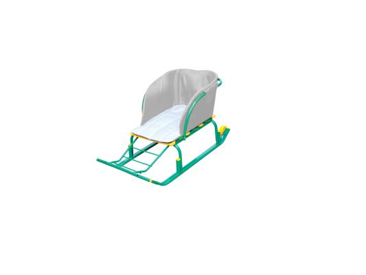 Сиденье для санок Ника без чехла для ног разноцветный ткань СС2-1 в ассортименте
