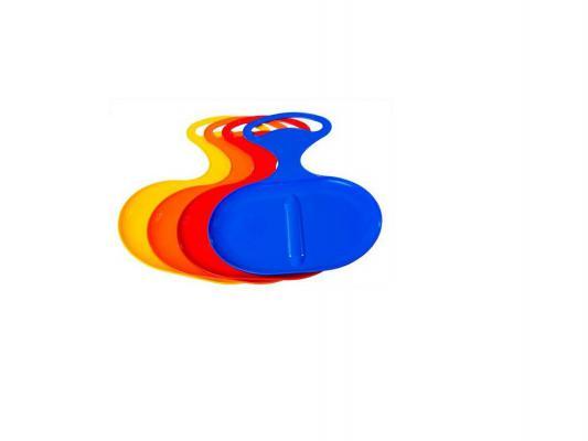 Ледянка Пластик Snow Asss до 80 кг разноцветный пластик Пл-С 309 в ассортименте ледянка нло цвет в ассортименте