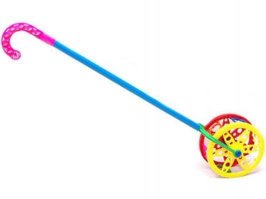 Каталка на палочке Karolina Toys Колесо разноцветный от 1 года пластик 40-0032