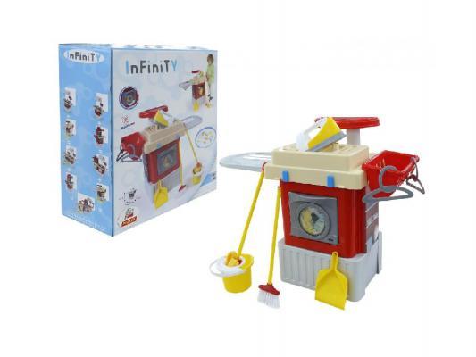 Игровой набор Полесье Infinity basic №3 со стиральной машиной 42293 ролевые игры полесье кухня infinity basic 1