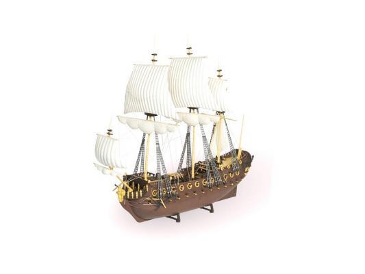 Корабль Огонек Гото коричневый С-35