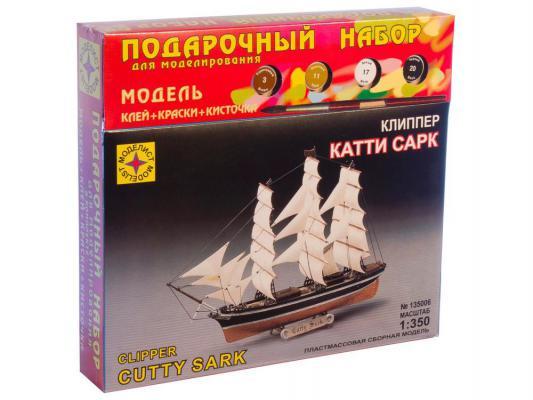Корабль Моделист Клипер Катти Сарк 1:350 ПН135006 корабль моделист баркентина эсмеральда 1 350 135039