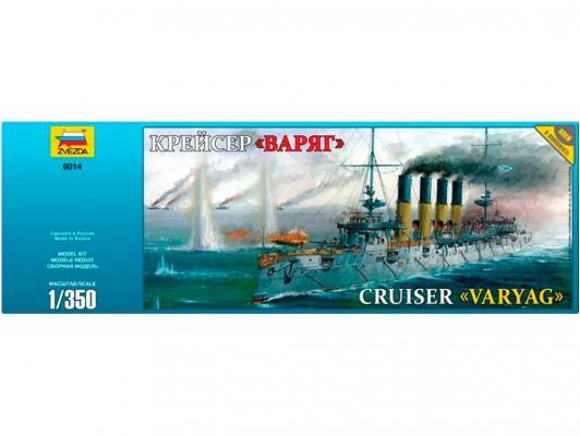 Корабль Звезда Крейсер Варяг 1:350 звезда модель крейсер варяг 9014