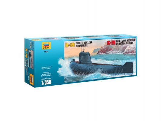 Подводная лодка Звезда К-19 1:350 черный 9025
