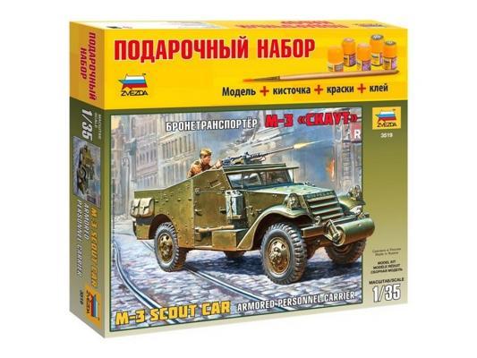 БТР Звезда М3 Скаут 1:35 3519 от 123.ru