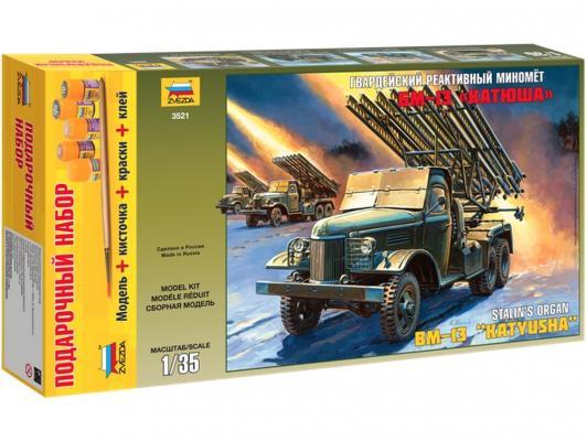Миномет Звезда БМ-13 Катюша 1:35 3521П подарочный набор