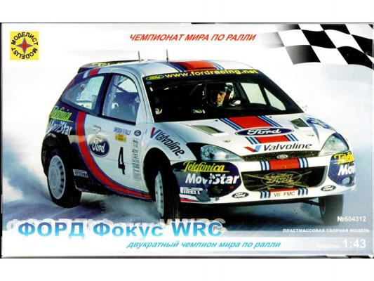 Автомобиль Моделист Форд Фокус WRC 1:43 разноцветный 604312