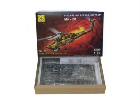 Вертолёт Моделист Модель боевой вертолет Ми-28 1:72 хаки  207224