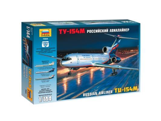 Самолёт Звезда Ту-154 М 1:144 7004