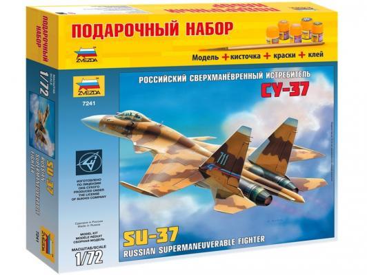 Самолёт Звезда сверхманевренный истребитель Су-37 1:72 7241П