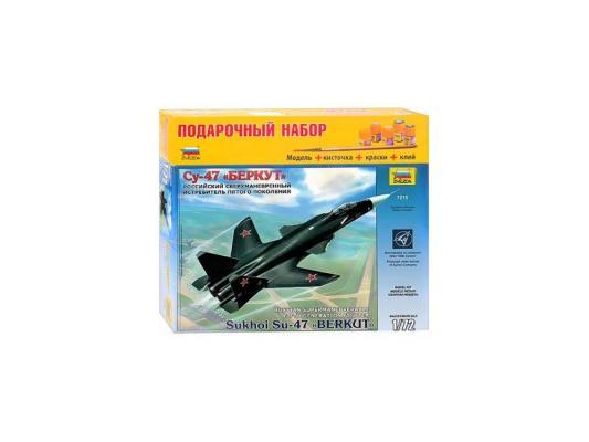 Самолёт Звезда СУ-47 1:72 черный 7215П самолёт моделист палубный супер этандар 1 72 207215