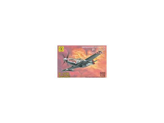 Самолёт Моделист Американский истребитель P-51D Мустанг 1:72 207208 самолёт моделист палубный супер этандар 1 72 207215