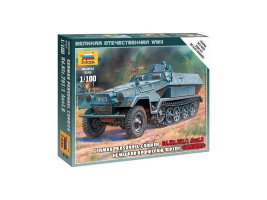 БТР Звезда Sd.Ktz.251/1 Ausf.B Ханомаг 1:100 6127