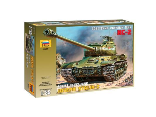 Танк Звезда ИС-2 1:35 зеленый 3524П