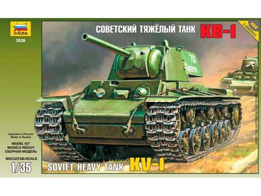 Танк Звезда КВ-1 советский тяжелый 1:35 3539